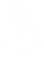 35. girl and flower